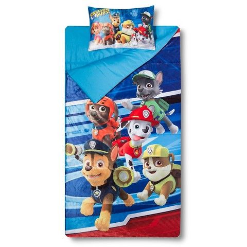 Paw Patrol Slumber Bed Mat Sack Multicolor Twin