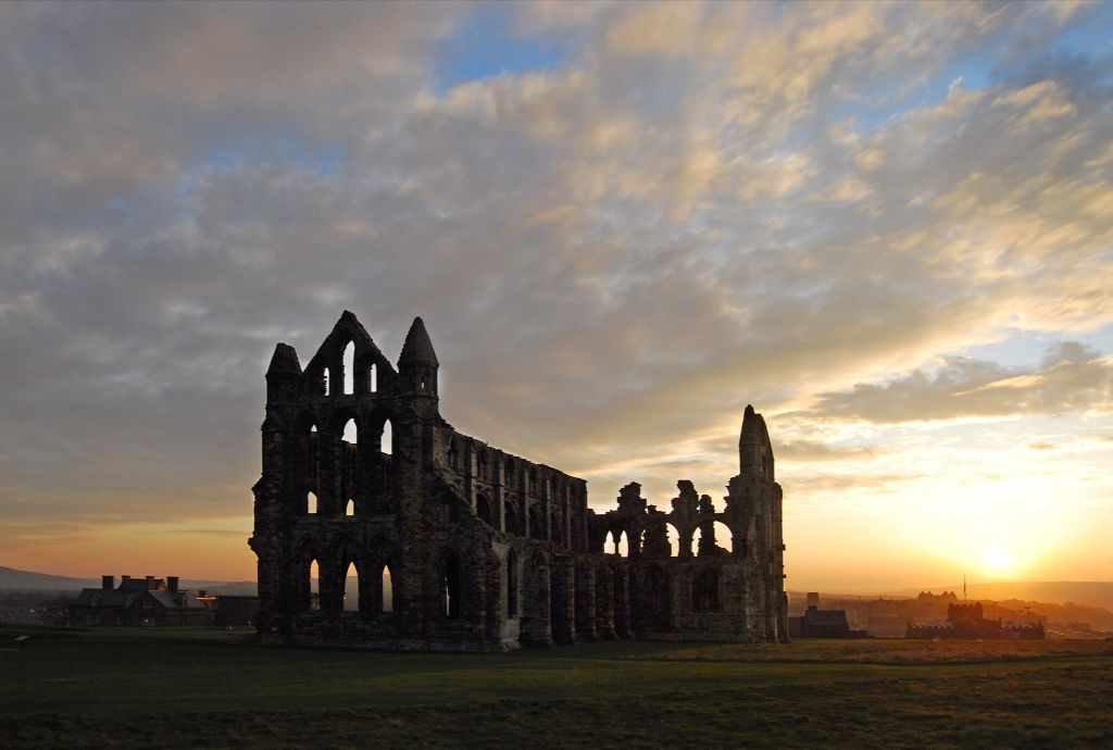 Whitby sunset........
