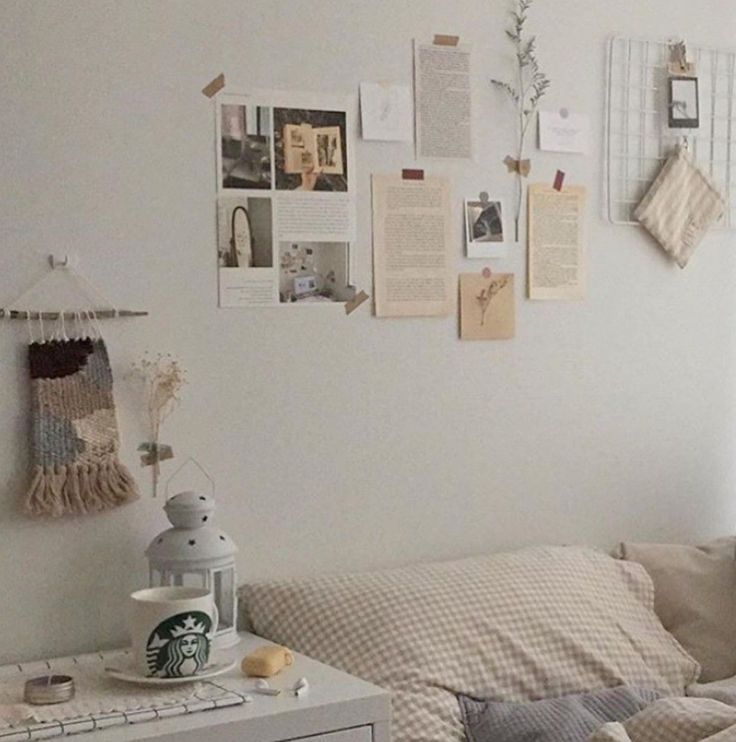 korean home decor aesthetic room decor seoul beige coffee ...
