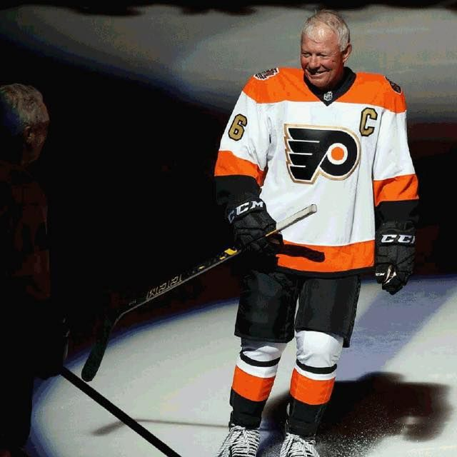 san francisco 03f8d c1cfe Bobby Clarke #16 Flyers 50th Anniversary Jersey   Pilgrim ...