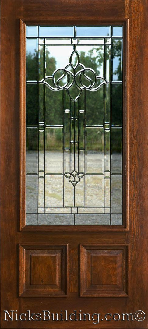 Awesome Beveled Glass Front Entry Doors