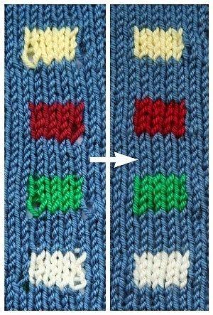 Une excellente technique pour des changements de couleur plus nets   – Knitting
