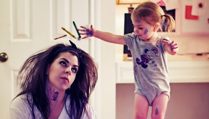 How Toddlers Help Keep A Mom S Day On Track Mom Day Toddler Mom