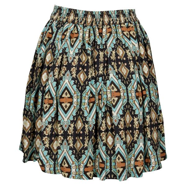 Fairground The Gift Skirt / As The Sun Skirt ($80) ❤ liked on Polyvore