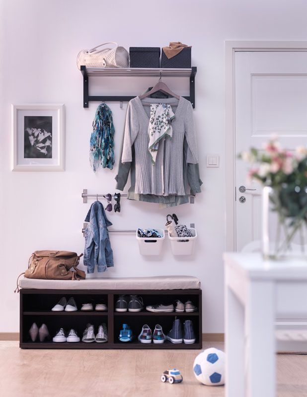 Ikea soluzione ingresso house hall nel 2019 for Mobili ingresso ikea