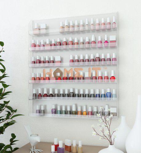 Acrylic Wall Rack Organizer Holds up to 102 Bottles Nail Polish Home-it,http://www.amazon.com/dp/B00DVRDON4/ref=cm_sw_r_pi_dp_tokbtb1G8XMXTB08