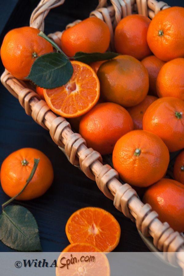 Ingredient photography - Clementine | With A Spin