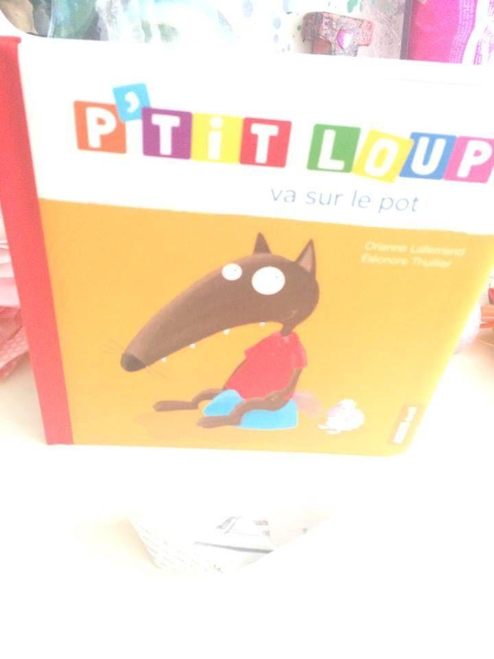 livre jeunesse p'tit loup va sur le pot