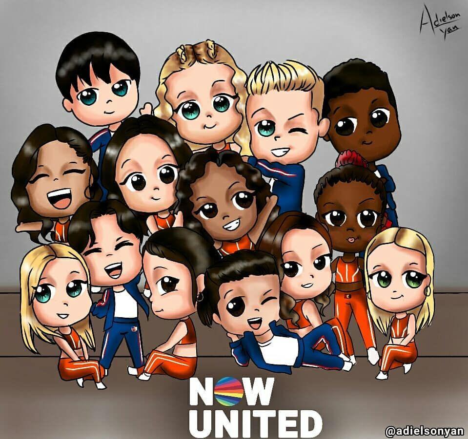 Now United Hey Galera Hoje Lhes Deixo Essa Ilustração