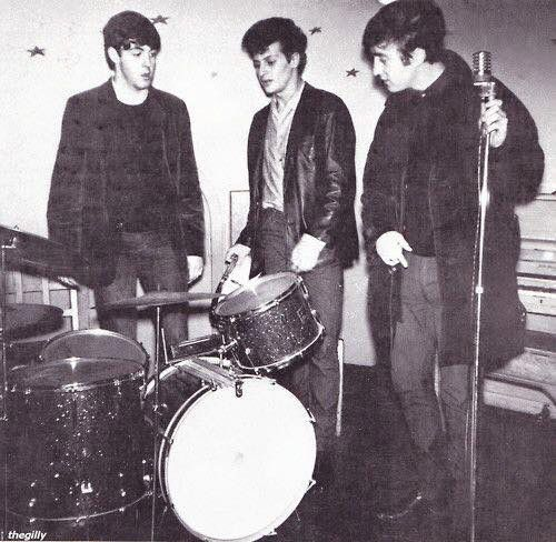 August 10th TODAY IN THE BEATLES UNIVERSE By TBU Editor Kathleen Kavanagh   On this date in 1962:  The   Beatles made their third of four appearances aboard the MV ROAYL IRIS, one of the River Mersey Ferrys. These gigs were known as the Riverboat Shuffles and  were thrown Ray McFall who owned The Cavern.  This is a photo of The Beatles, minus George, on this night taken by Paul McCartney's brother Mike.