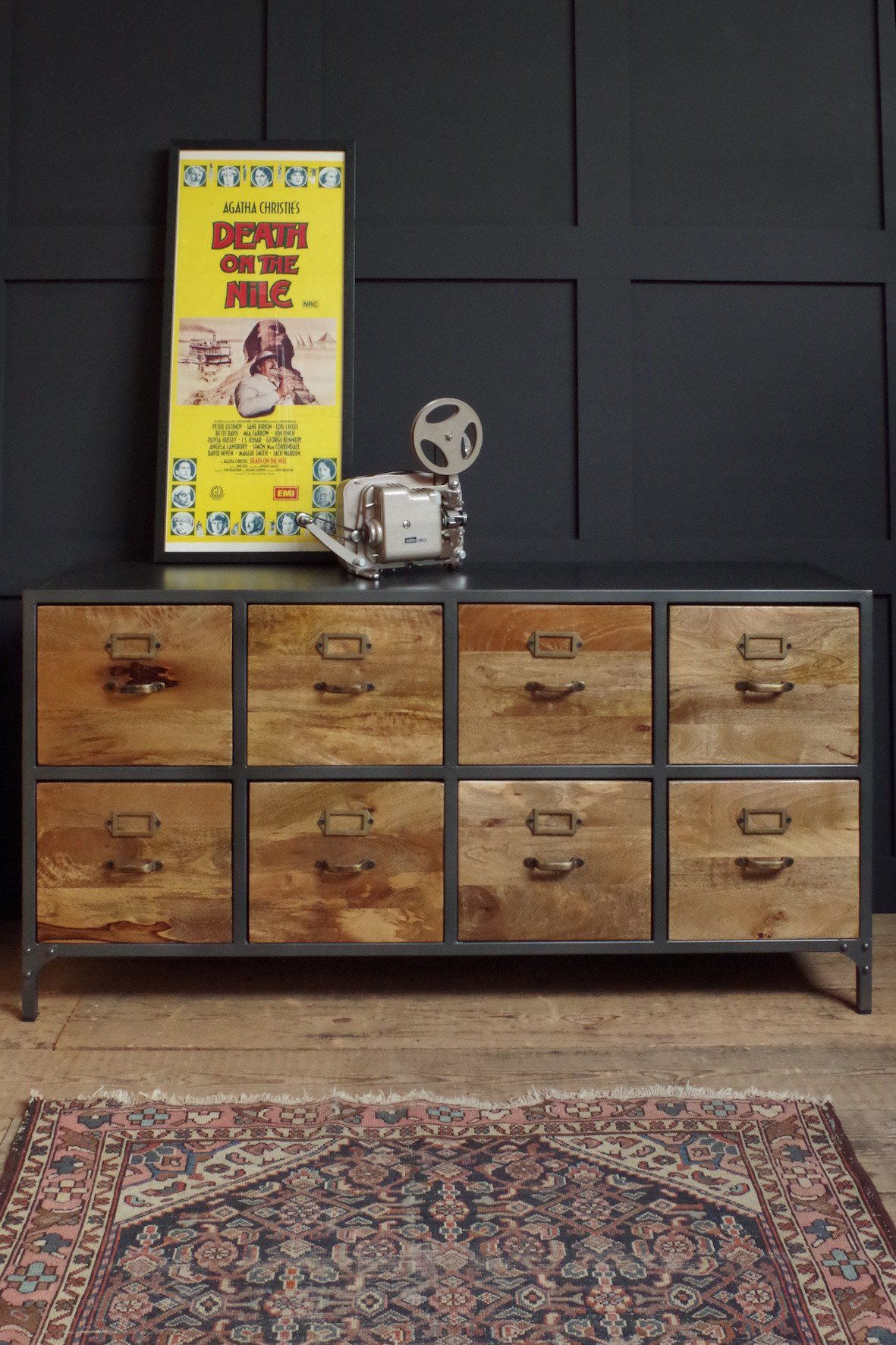 Haberdashery Sideboard Industrial Sideboards Industrial Drawers Vintage Industrial Furniture
