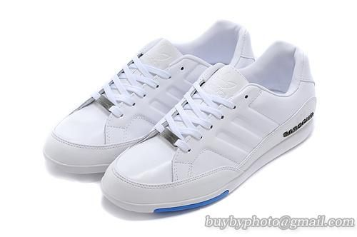 info for e9d68 3bacc Men s Adidas Porsche Design 356 Racing Shoes Full Head Leather White Blue only  US 68.00
