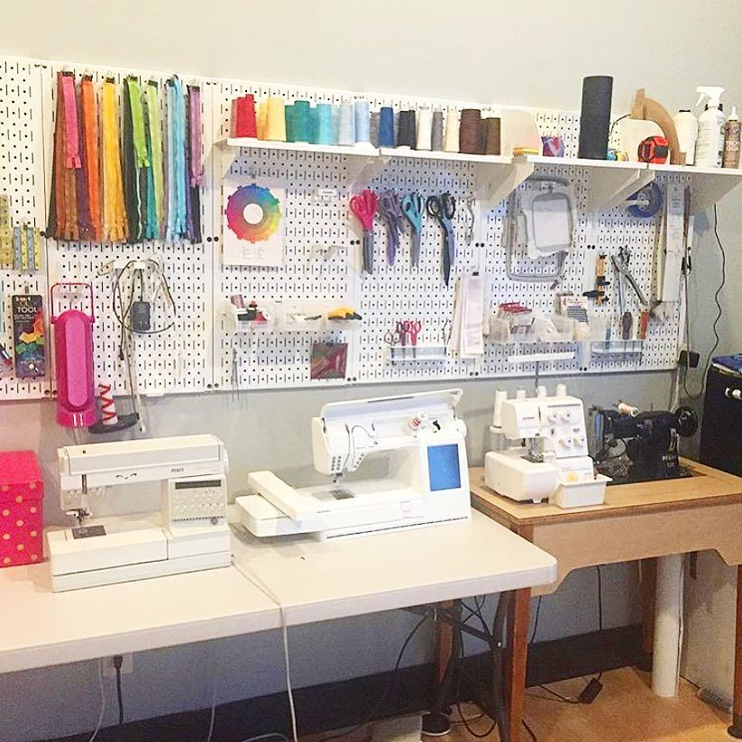 29++ Sewing room pegboard wall trends