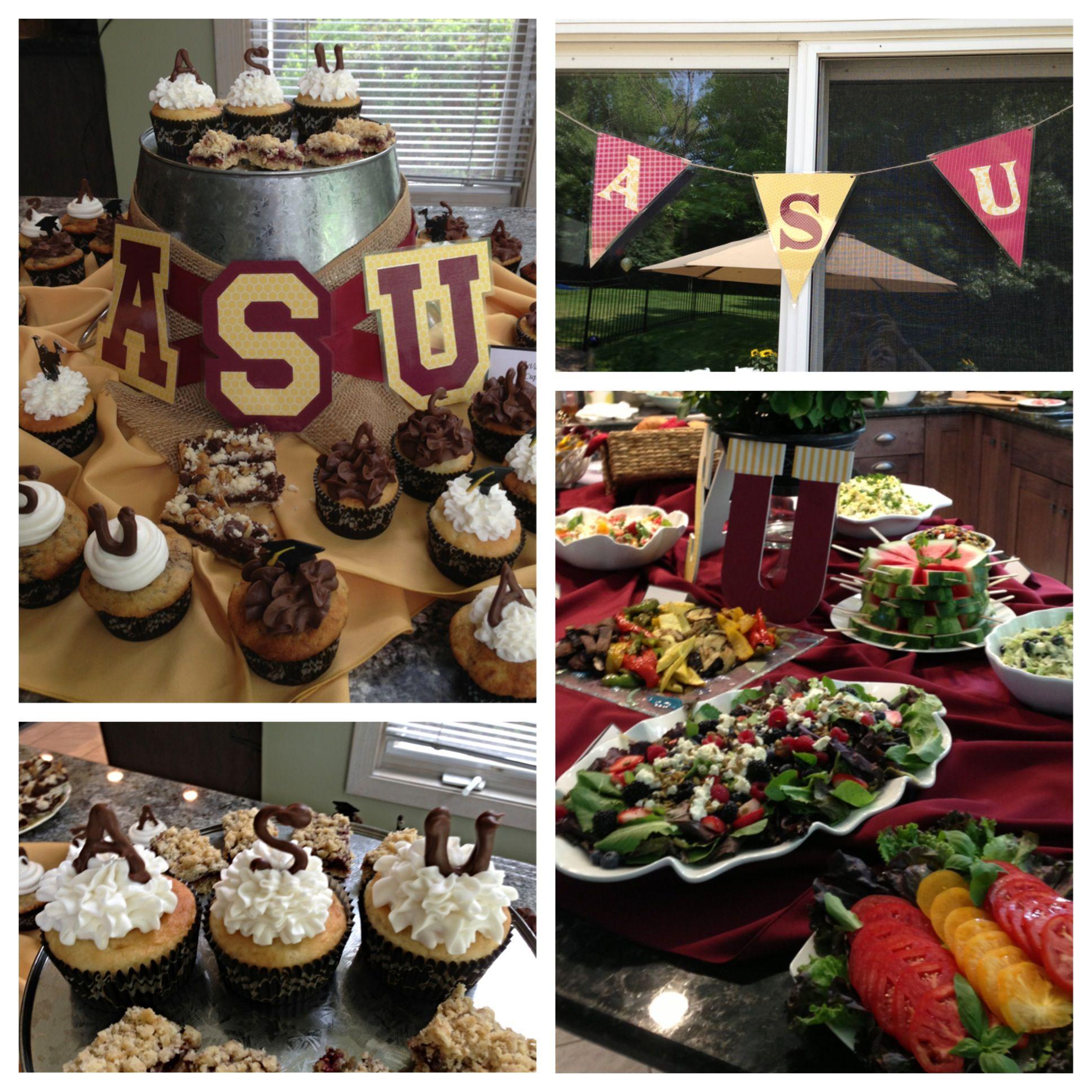 Arizona State University themed graduation party