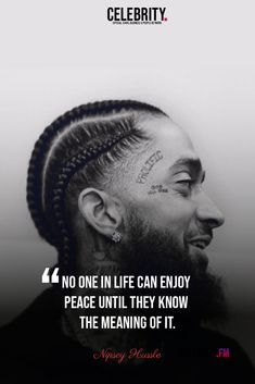 Inspirational Nipsey Hussle Quotes ⚡ #Love #popularquotes #QuotesbyFamousPeople #Quotescollection #rappers