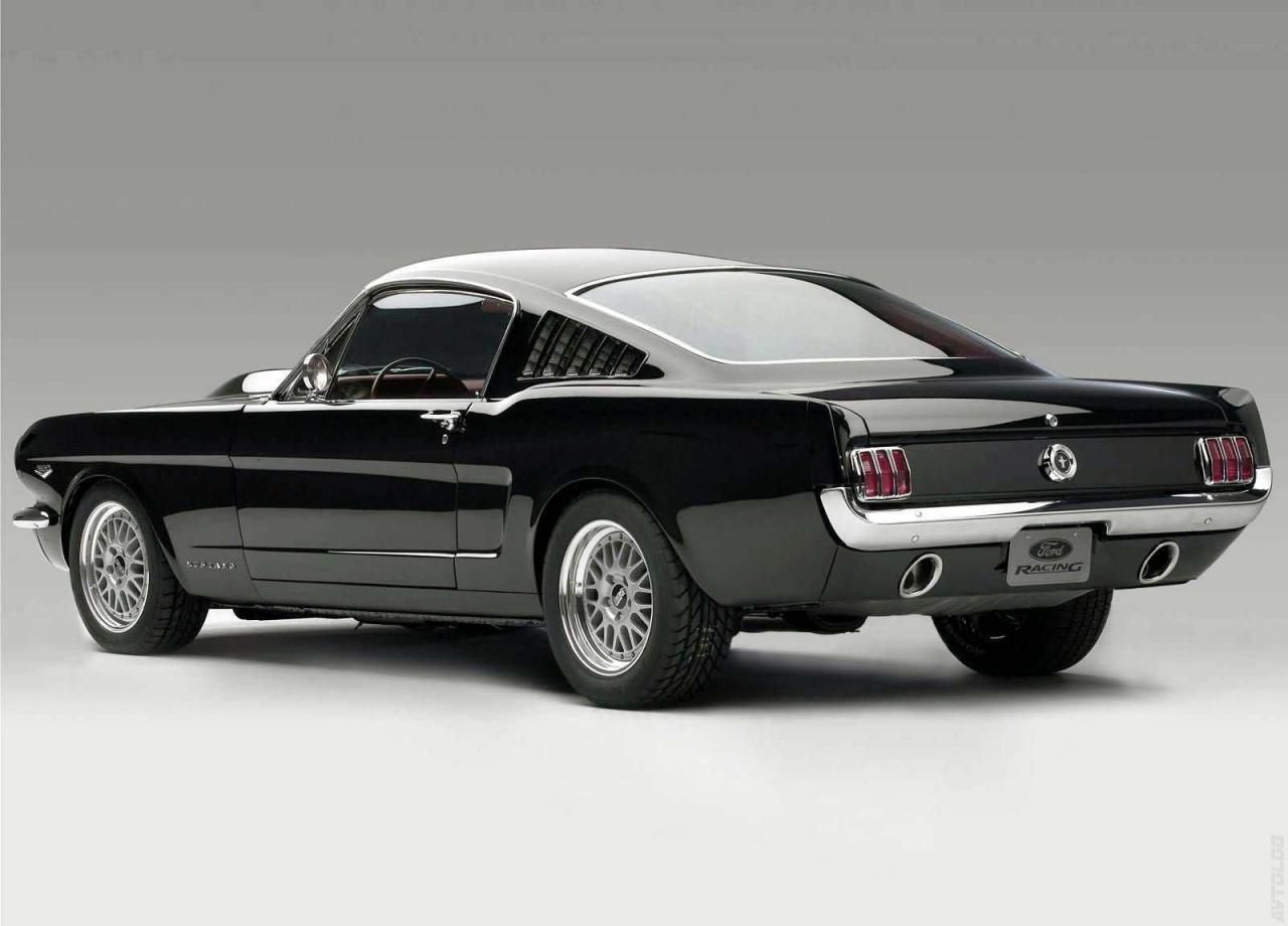 1965 ford mustang fastback with cammer engine