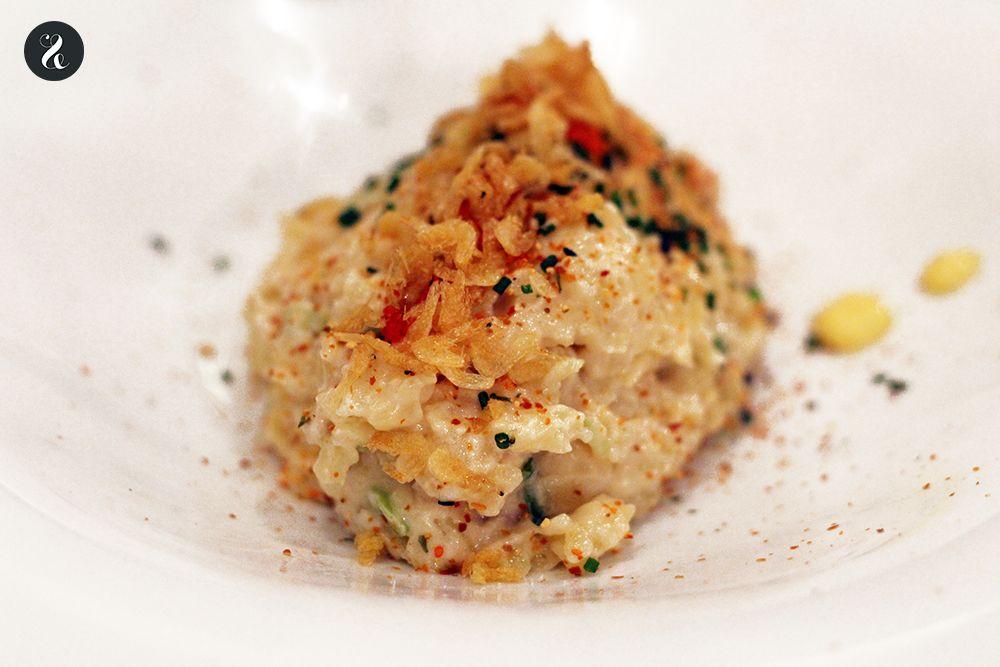 ensaladilla de camarón Latasia restaurante Madrid