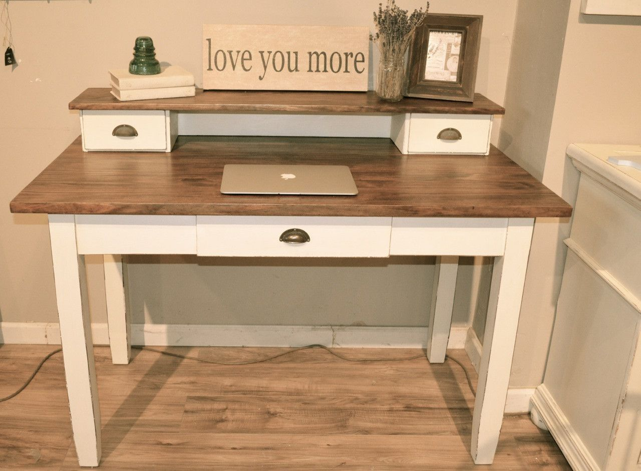 Distressed Off White Desk White Distressed Desk White Desks White Desk Office