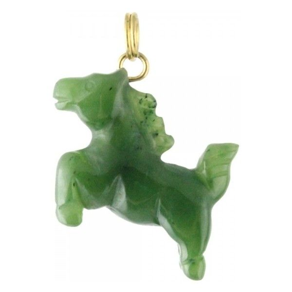 Jade horse charm hnw 2839 07 20 liked on polyvore featuring jade horse charm hnw 2839 07 20 liked on aloadofball Choice Image