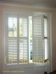 ***Shutters - bottom half of windows only - entire house****