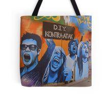 spanish streetart Tote Bag
