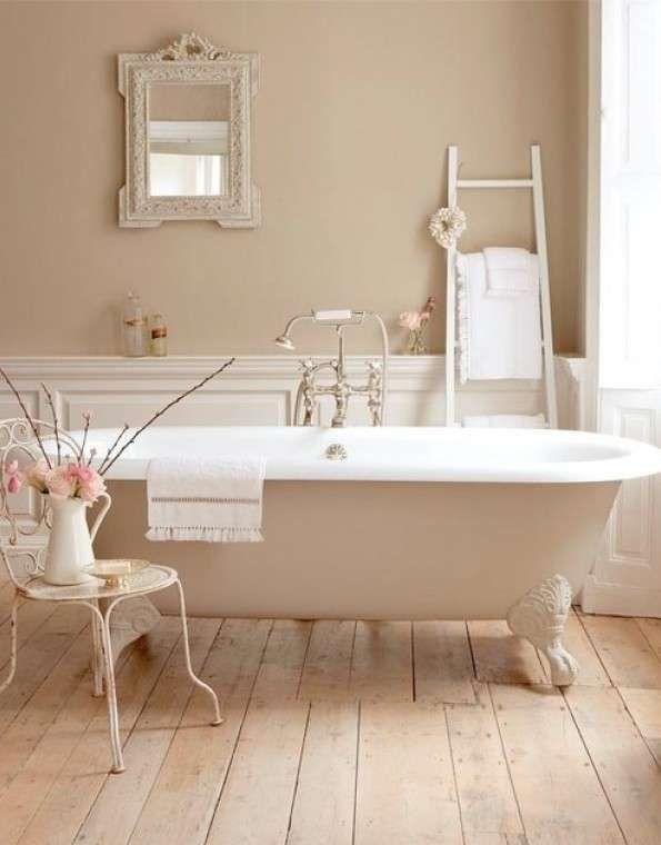 Arredare il bagno in stile romantico - Bagno color cipria | Attic ...