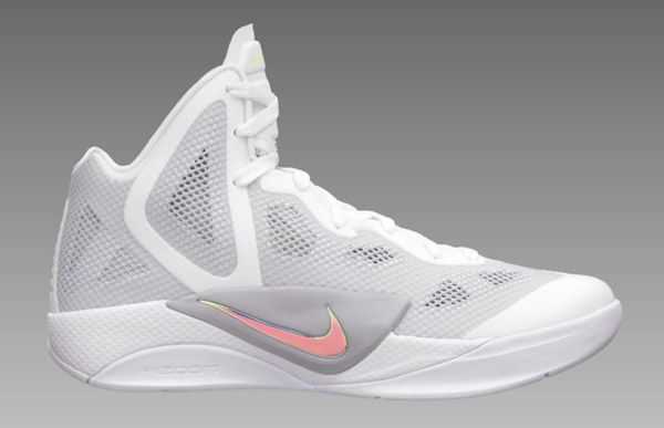 new style aeb43 e61a6 Nike Zoom Hyperfuse, 2011, white-metallic, luster wolf grey, volt team Red