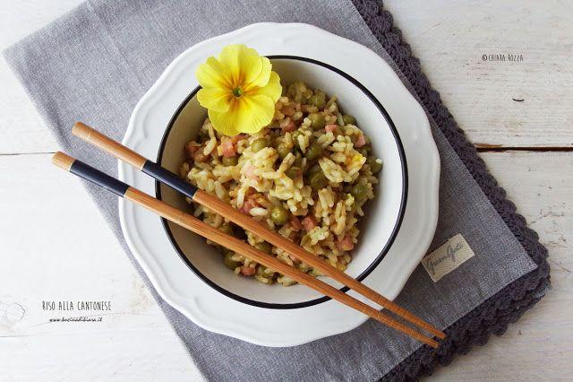 Riso alla cantonese   Kucina di Kiara: blog di cucina a cura di Chiara Rozza