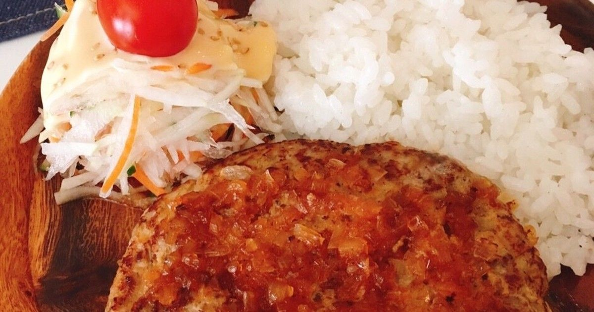 びっくりドンキー風ジューシーハンバーグ by 新米幸せママ♡ 【クックパッド】 簡単おいしいみんなの