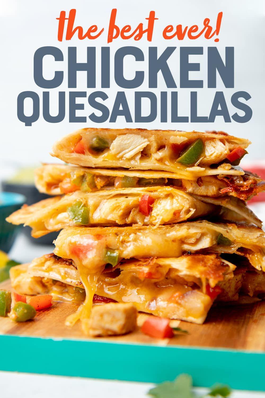 Easy Chicken Quesadilla Recipe Recipe Chicken Quesadilla Recipe Easy Chicken Quesadilla Recipe Quesadilla Recipes Easy