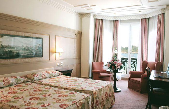 Vistas Hotel De Londres Y De Inglaterra En San Sebastian Donostia