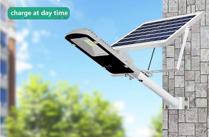 Solar Panel Led Street Light 10w 20w 30w 50w 70w 100w 120w Protection Grade Ip65 Waterproof Light Source Led 5 Led Street Lights Solar Led Lights Street Light