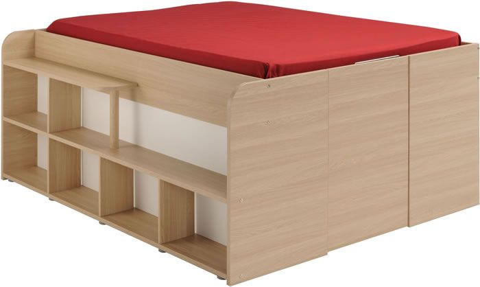Kids Avenue Space Up Double Cabin Bed With Storage The Home And