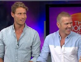 MKR finalists Luke and Scott share their tips for clean living with two smoothie recipes.