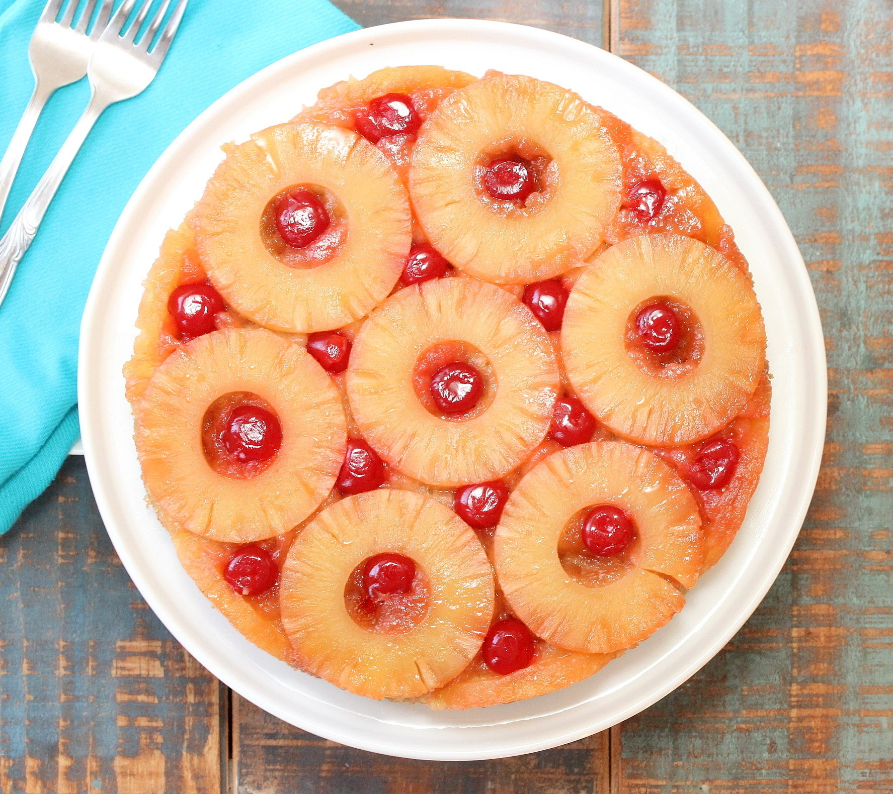 Pineapple Cake Batter From Scratch: Classic Pineapple Upside-Down Cake