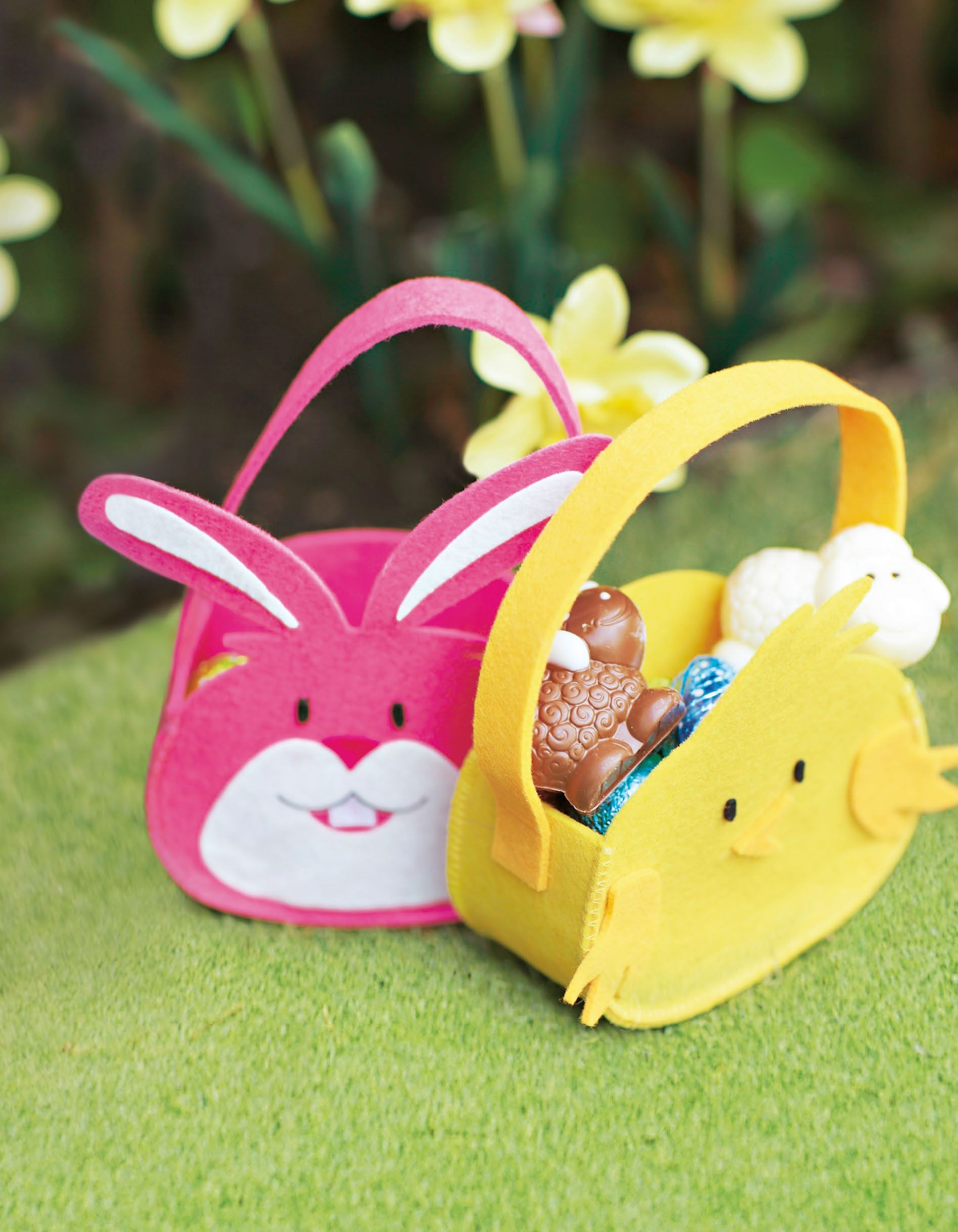 Bunny and chick egg hunt baskets asda easter goodies bunny and chick egg hunt baskets negle Image collections