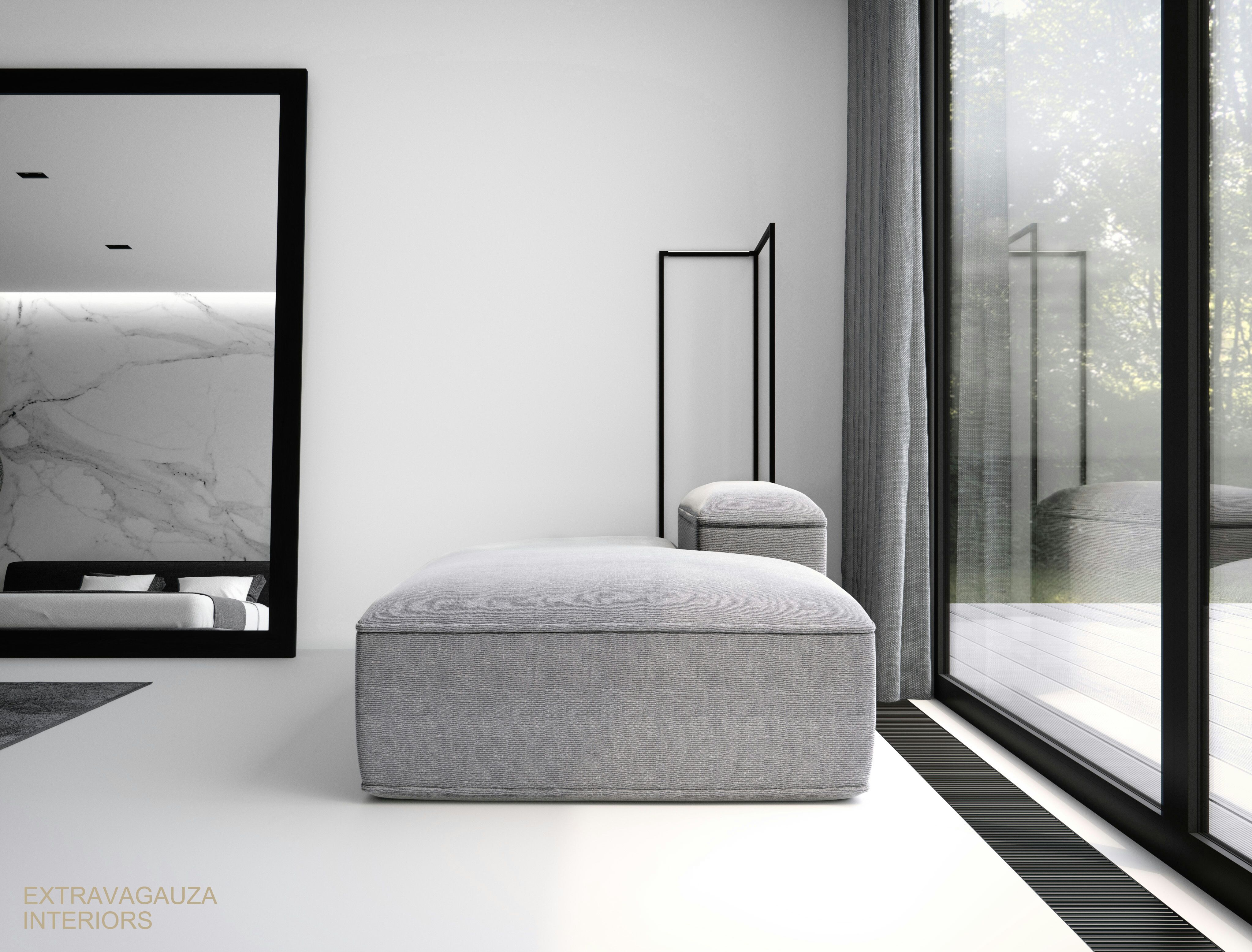 Minimalist Interior Design Bedroom: Contemporary Minimalist Bedroom
