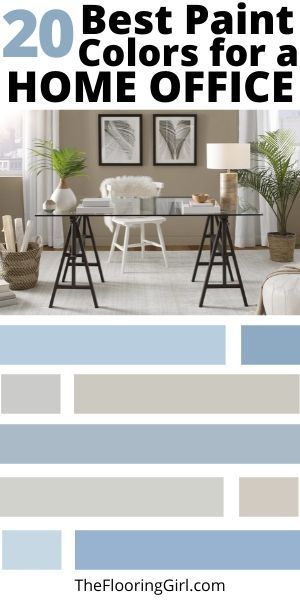 20 best paint colors for a home office best paint colors on best home office paint colors id=69589