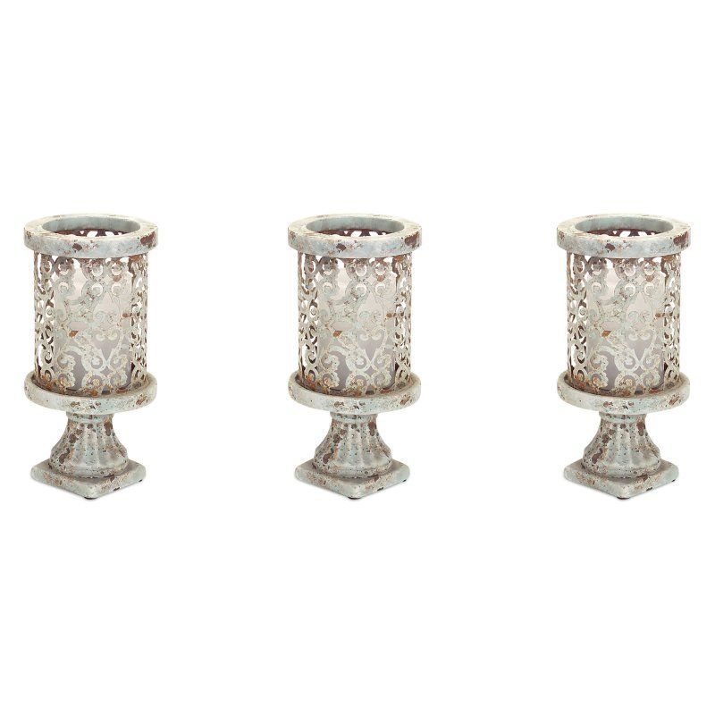 illuminated valerie s product glass candle pedestal holders mercury by holder pedestals
