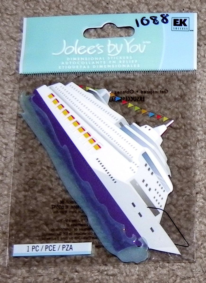 JOLEE/'S BOUTIQUE FUNDRAISERS DIMENSIONAL STICKERS  BNIP