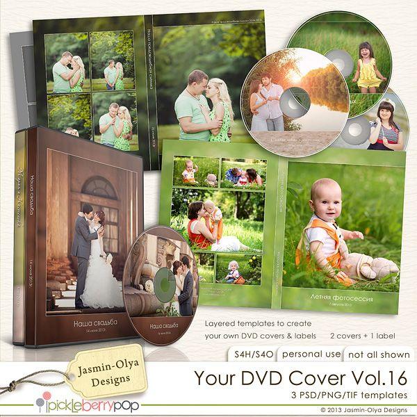 your dvd cover vol 16 jasmin olya designs Обложки и диски