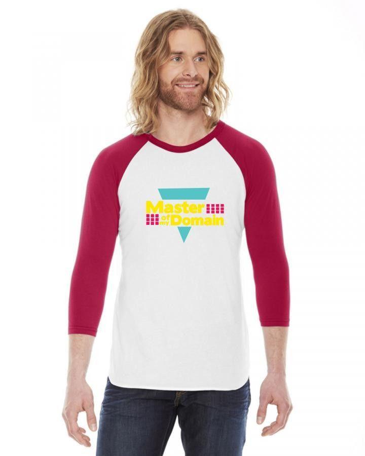 master of my domain 3/4 Sleeve Shirt