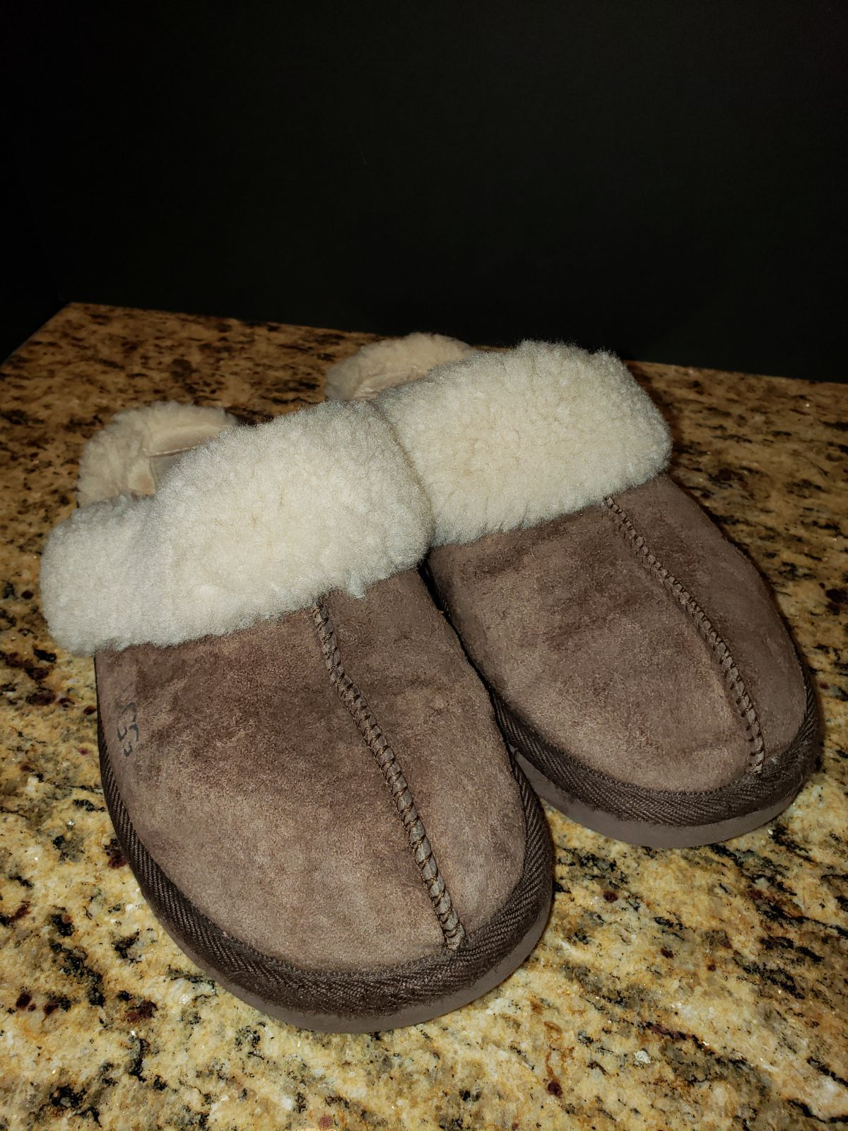ugg slippers fur coming off