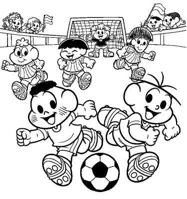 Alfabetizando com Mônica e Turma  Copa do Mundo 2010  7e954f2f14e