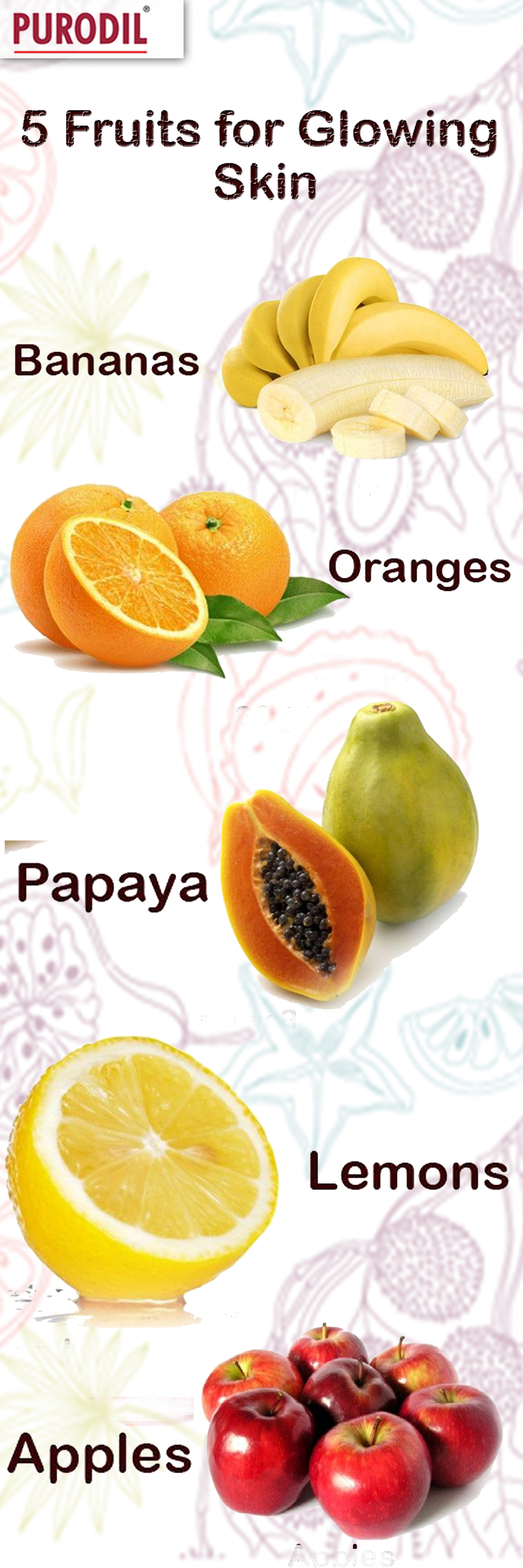 Want To Look Beautiful Try These Fruits To Make Your Skin Glow Skincare Healthyskin Healtht Skin Care Remedies Fruits For Glowing Skin Diy Anti Aging