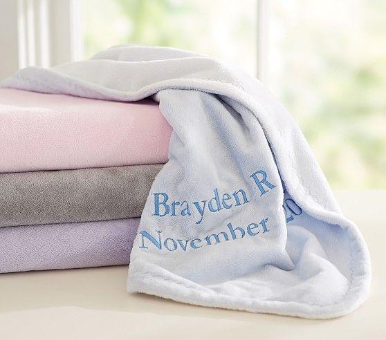 Chamois Baby Blanket I love how soft