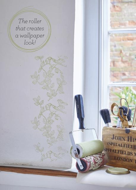 Paint Roller Wallpaper Laura Ashley Home Shopping Spy Ideal Housetohome