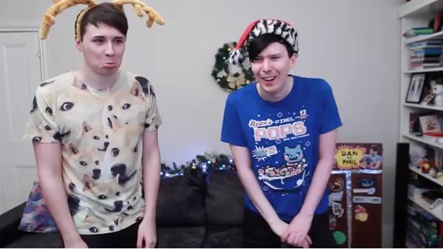 """Like a sad reindeer"" WE ACTUALLY EXERCISE! - Dan vs. Phil: KINECT SPORTS"