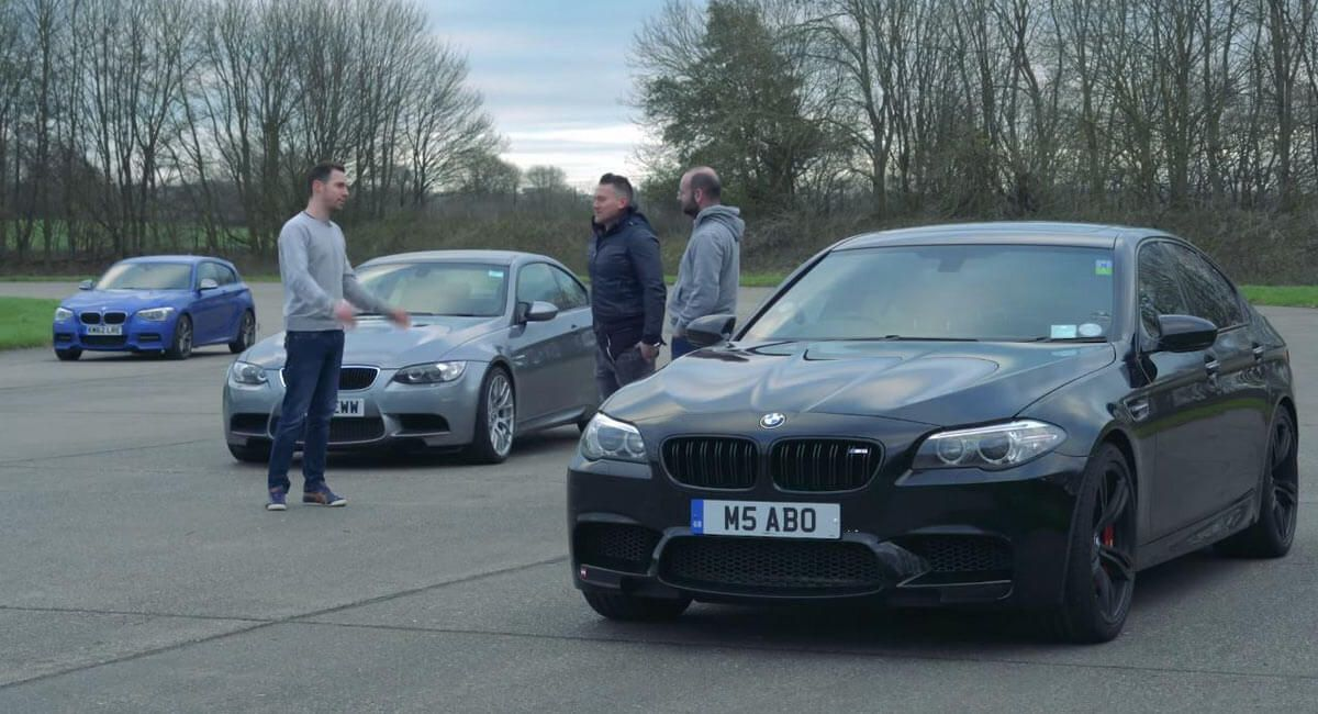Three Affordable Used BMW M Cars Make For An Interesting Drag Race #news #