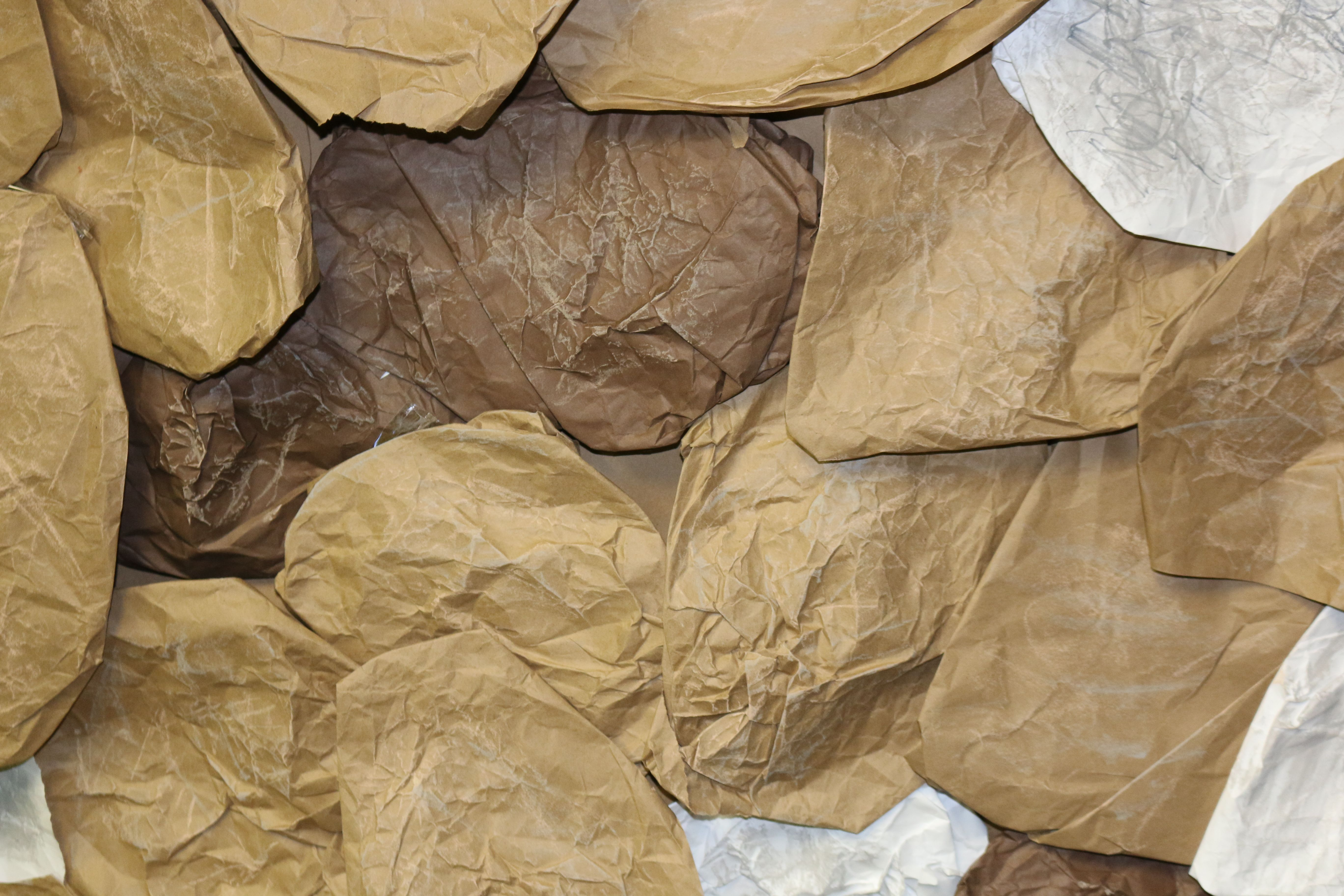 Create Rocks And Boulders Using Shades Of Brown Craft